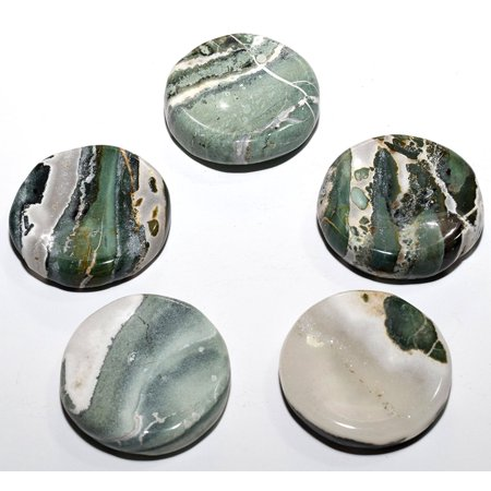 Brown Agate Sphere - 40mm Natural Green White Agate Stand for Sphere / Egg Polished Crystal Mineral Gemstone Specimen - India (1PC)