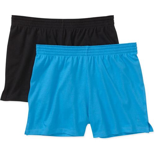 Danskin Now - Women's Knit Shorts, 2-Pack