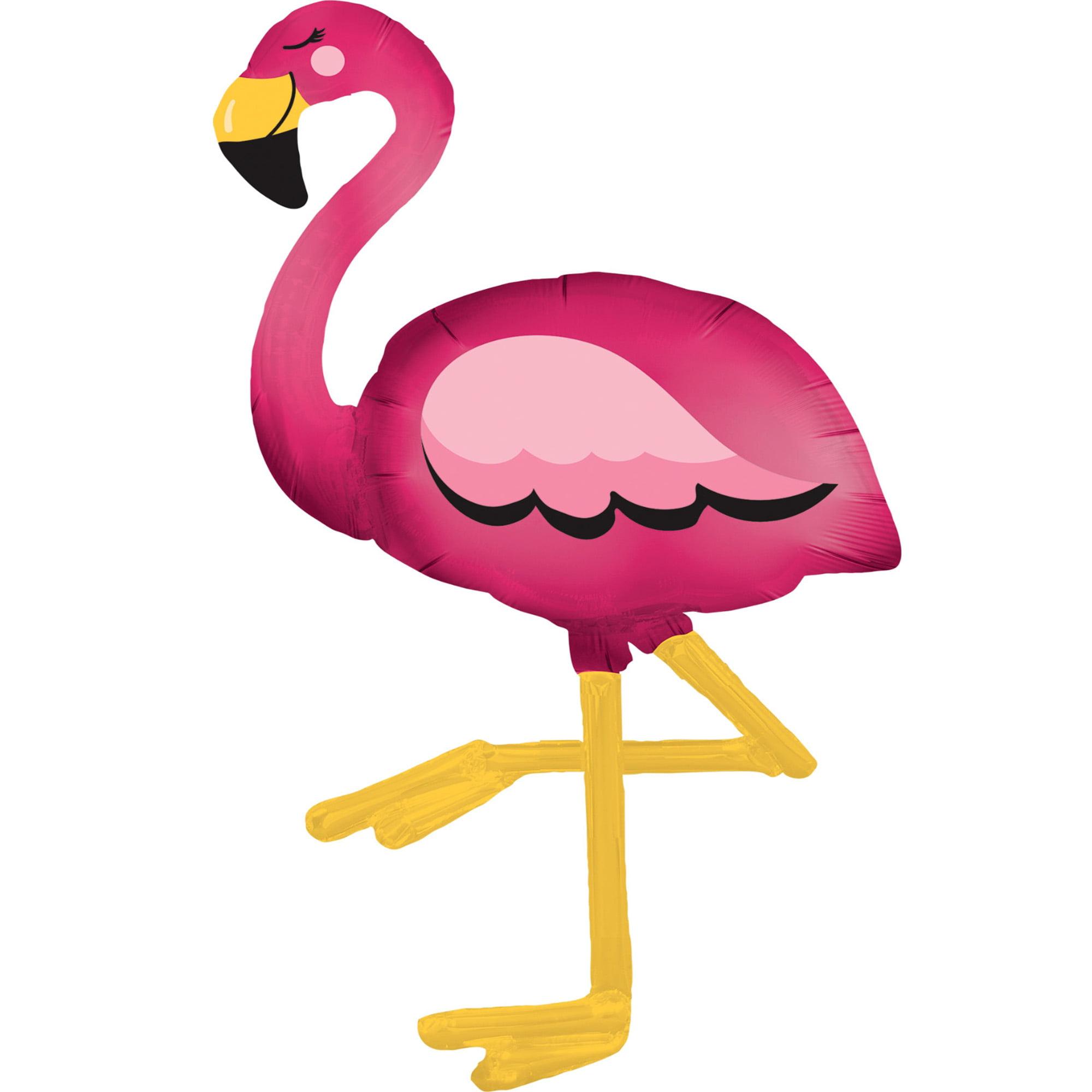 Flamingo Black and White Stripes Balloon Bouquet Black and White Flamingo Party