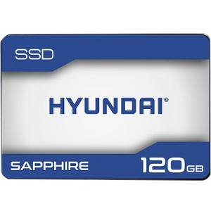 "Hyundai Technology Sapphire SSD 120GB 3D TLC Flash, Internal 2.5"" SATA"