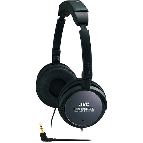 JVC HANC80 Noise Canceling Full Sized Stereo Headphones