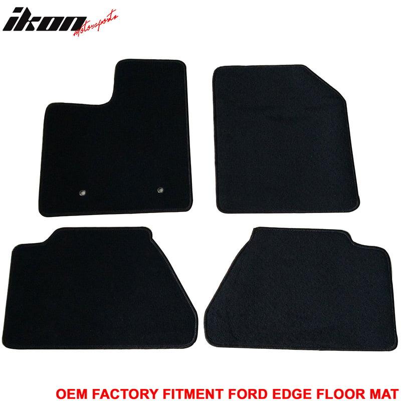 Nylon Fits 07-13 Ford Edge Floor Mats Carpet Front /& Rear Gray 4PC