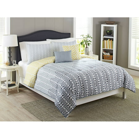 Better homes and gardens geo ombre bedding comforter set - Better homes and gardens comforter sets ...