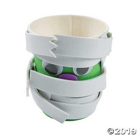 Halloween Mummy Treat Cups Craft Kit](Halloween Craft Classroom)