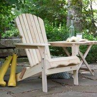 Foldable Adirondack Chair Kit - Natural