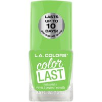 L.A. Colors Color Last Nail Polish, Energy