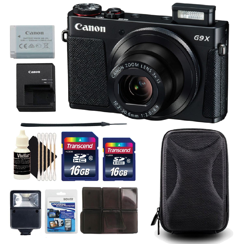 Canon PowerShot G9 X Point and Shoot Digital Camera Black...