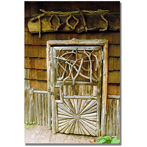 "Trademark Art ""Tool Shed"" Canvas Art by Kathie McCurdy"