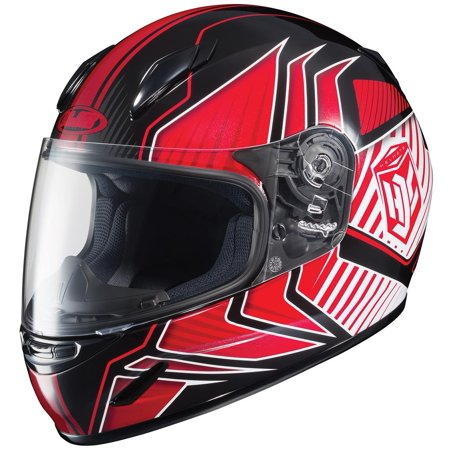 HJC CL-Y Redline Youth Helmet Red (MC-1) (Red, Small)