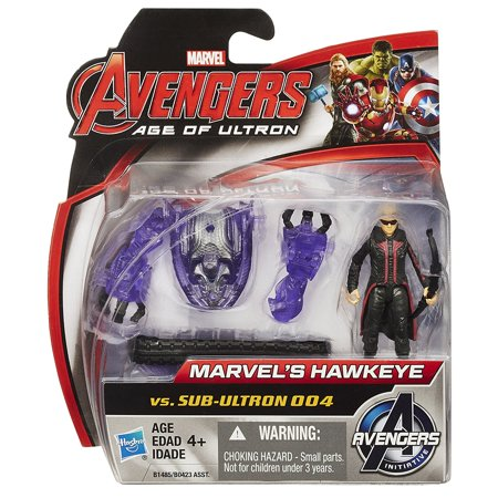 Marvel Avengers Age of Ultron Hawkeye Vs. Sub-Ultron 004 2.5-inch Figure (Avengers Age Of Ultron Gag Reel Full)