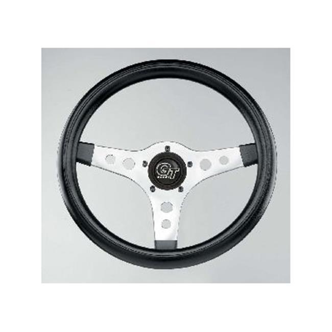 GRANT 701 Gt Sport Steering Wheels, Black, Chrome Finish