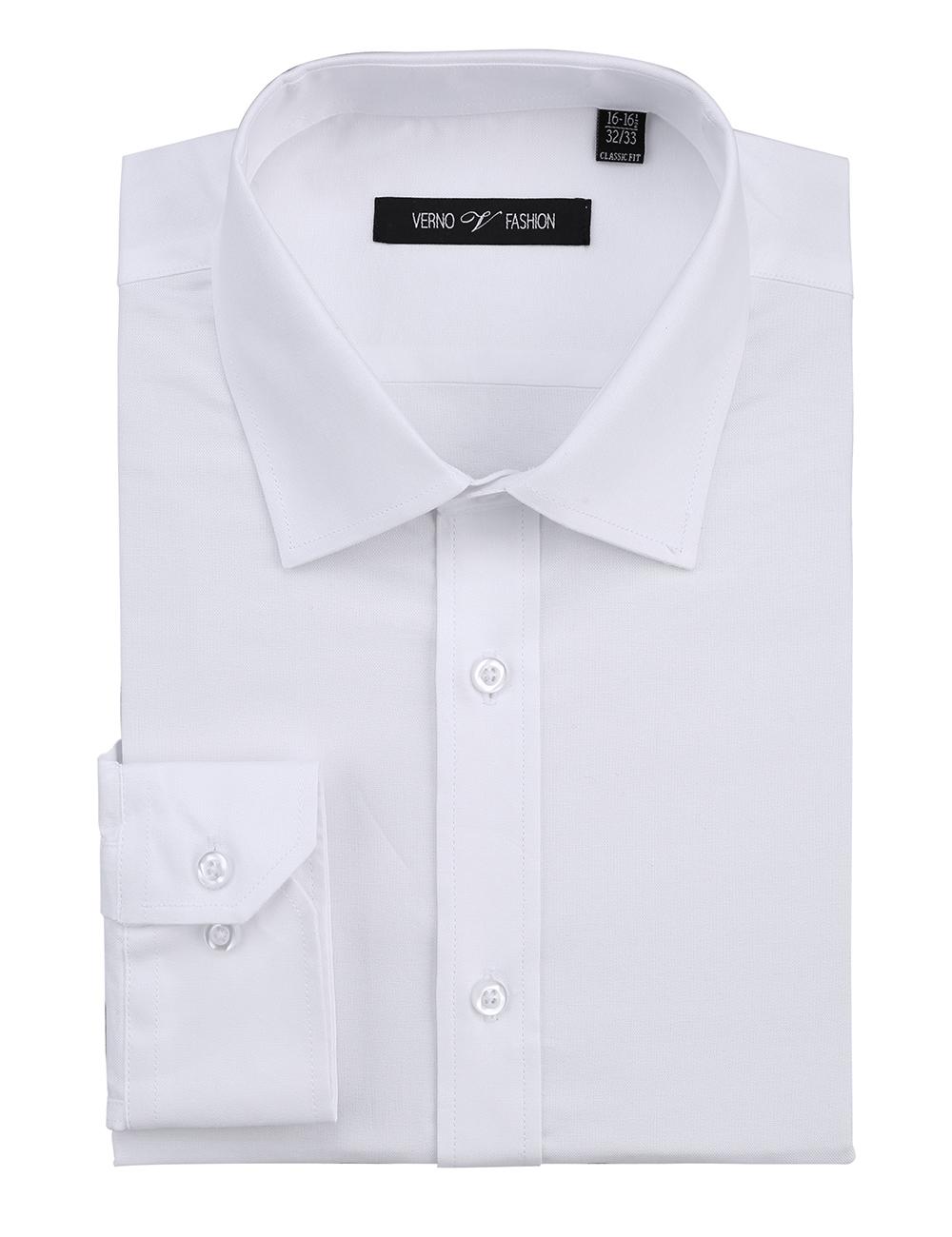 Casual King Mens Dress Shirts Wrinkle-Free Regular Fit Long Sleeve Fashion Men Shirt