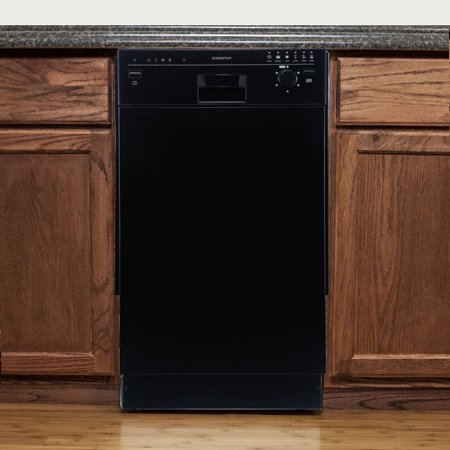 Black Dishwasher Drawer - EdgeStar 18