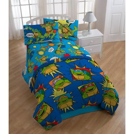 Teenage Mutant Ninja Turtles Team Turtles 3 Piece Sheet Set by - Teenage Mutant Ninja Turtles Pillow Case