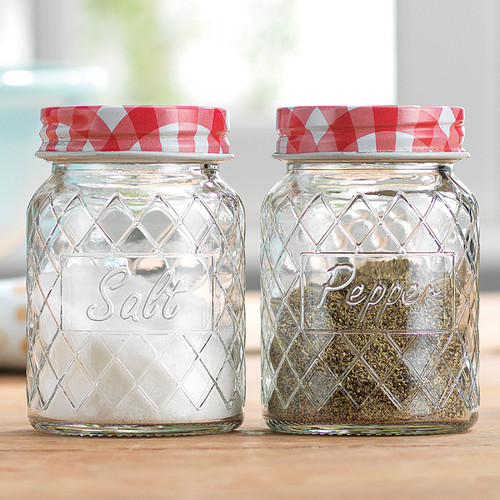 Click here to buy Home Essentials and Beyond Diamond Salt and Pepper Shaker (Set of 2).