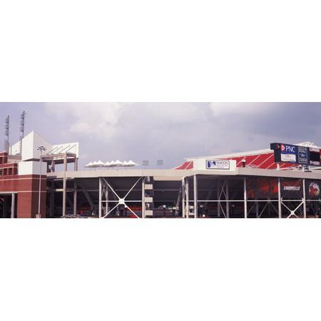 Low Angle View Of A Football Stadium Papa Johns Cardinal Stadium Louisville Kentucky Usa Poster Print