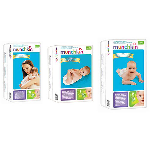 Munchkin - Super Premium Diapers (Choose Your Size)