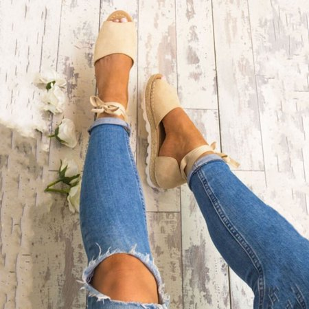 Meigar 2019 Summer Sandals Women Casual Shoes Espadrille Sandals Special