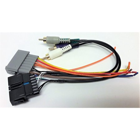 premium system wire harness for installing a new radio into a dodge dakota 1987 1988 1989. Black Bedroom Furniture Sets. Home Design Ideas