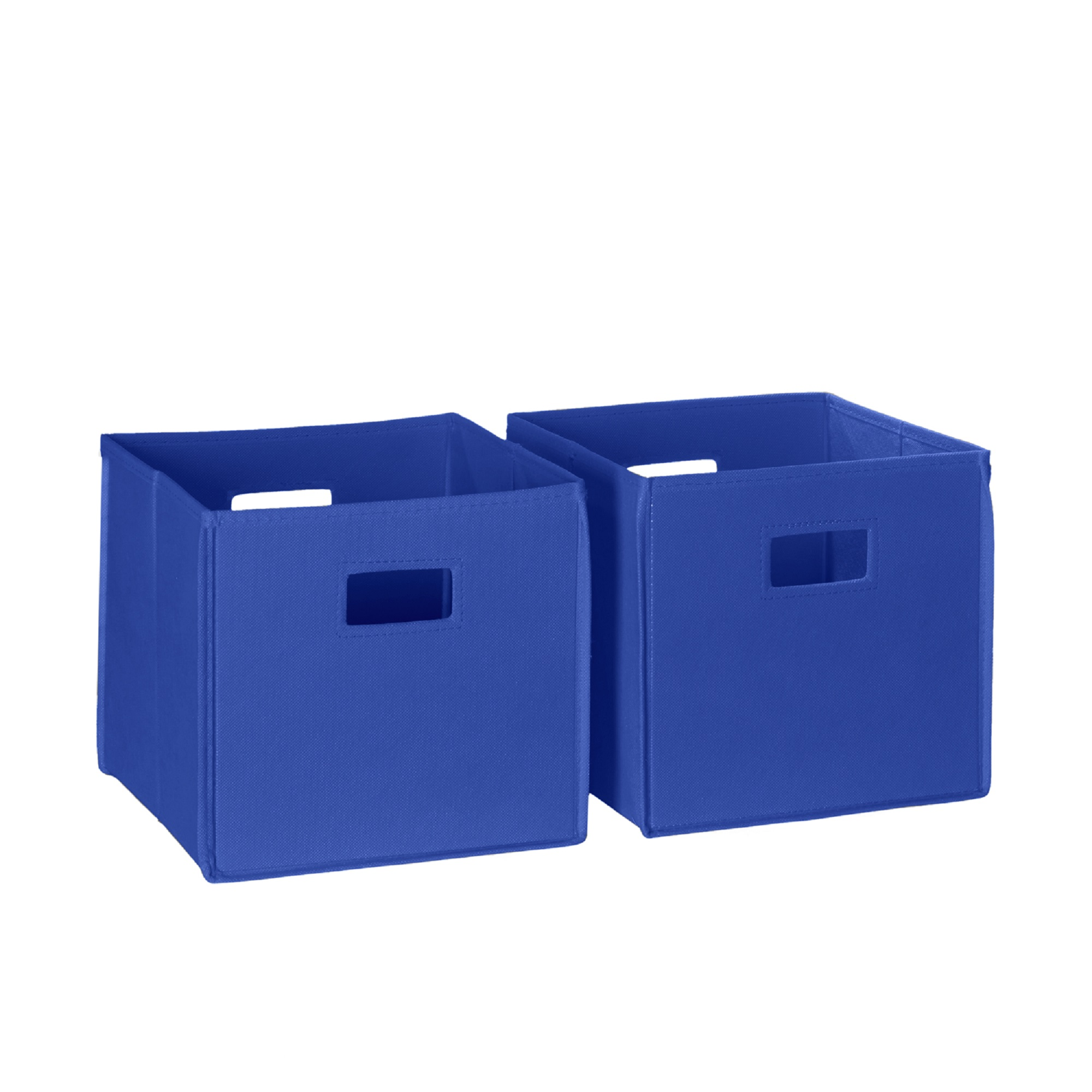 RiverRidge Kids 2 Pc Folding Storage Bin Set Red by Sourcing Solutions, Inc.