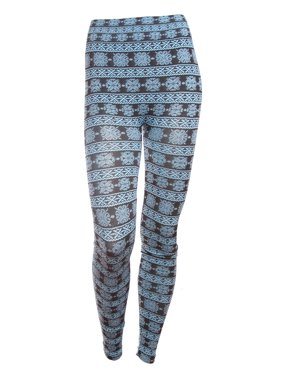 525ca398fbcfb Product Image Simplicity Trendy Leggings w/ Flower & Lace Pattern Print, ...