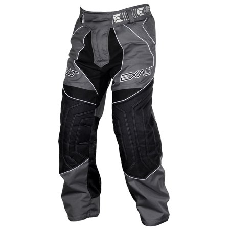 Exalt Paintball T4 Pants - Charcoal (Paintball Professional Pants)