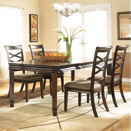 024052050370 upc darrk brown rectangular dining room for 1 furniture way arcadia wi
