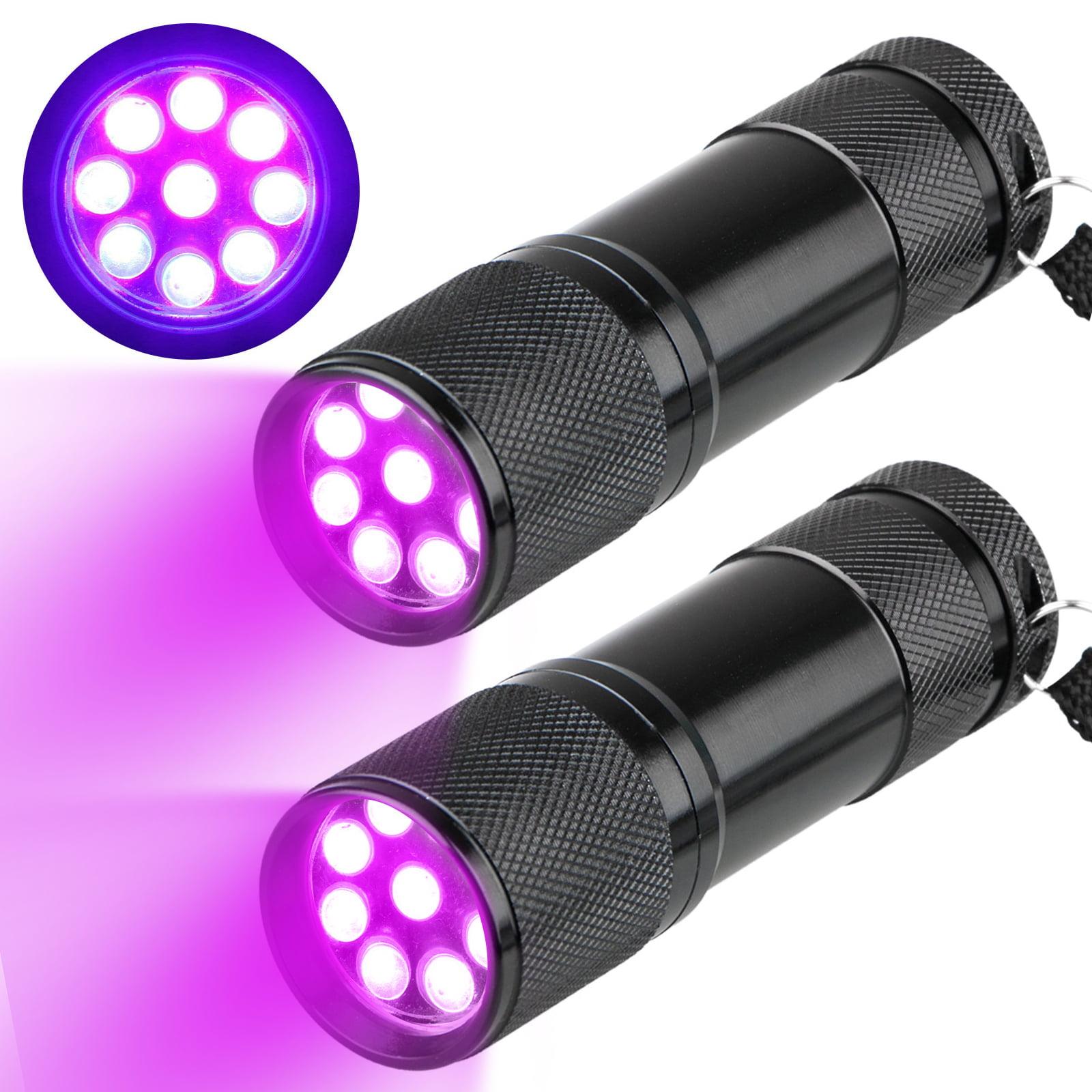 UV Glasses 21 LED UV Black Light Flashlight Torch for Dog Cat Urine Detector