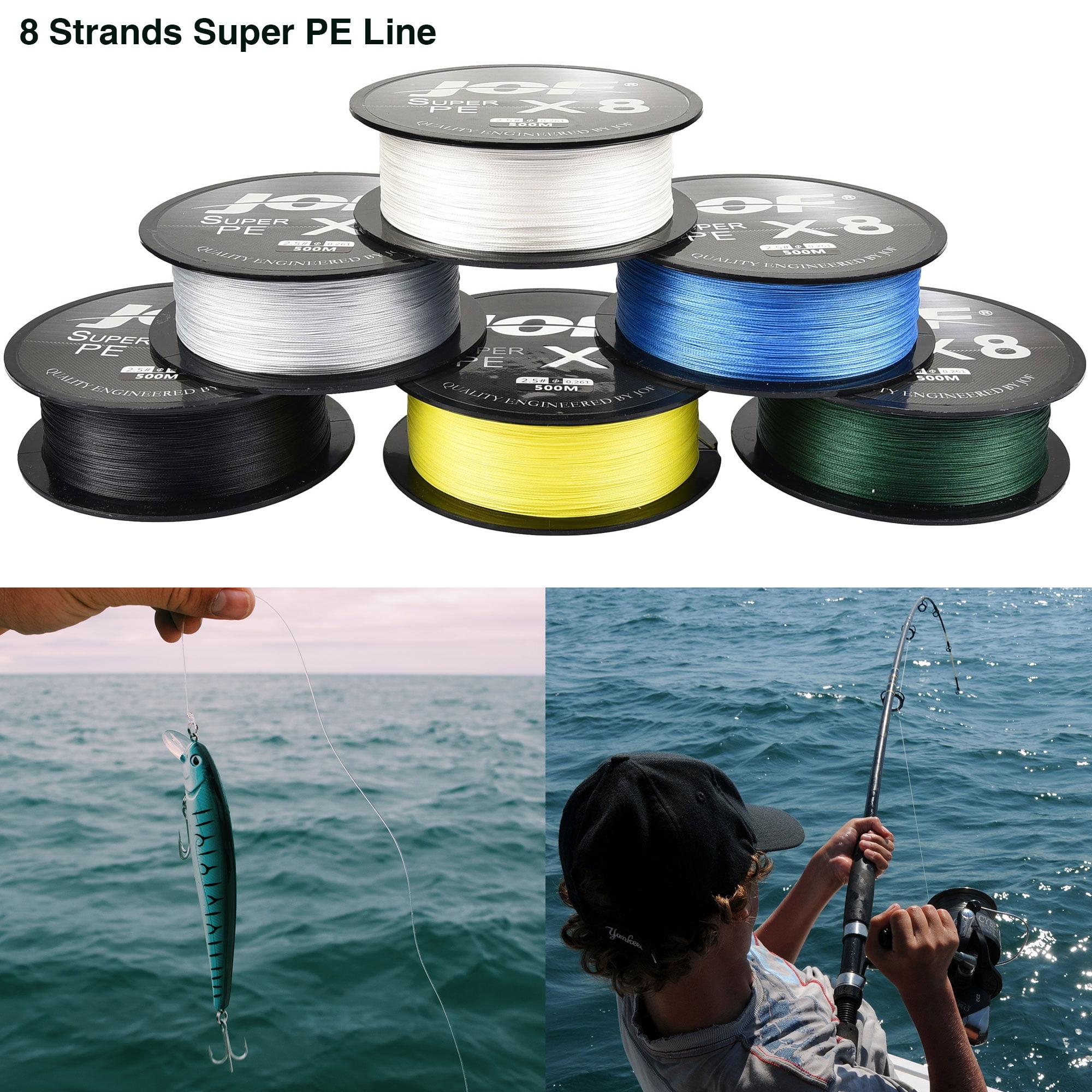 300M-1000M 12LB-160LB Spectra Extreme PE Dyneema 8 Strands Braided Fishing Line