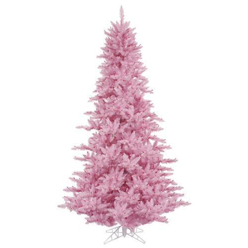 7.5' Medium Pink Fir Artificial Christmas Tree - Unlit