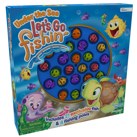 Pressman Let's Go Fishin' Under the Sea Game