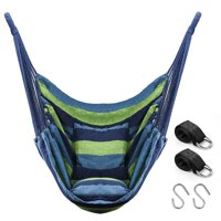Deals on Quanfeng QF Hanging Hammock Chair With 2 Cushions