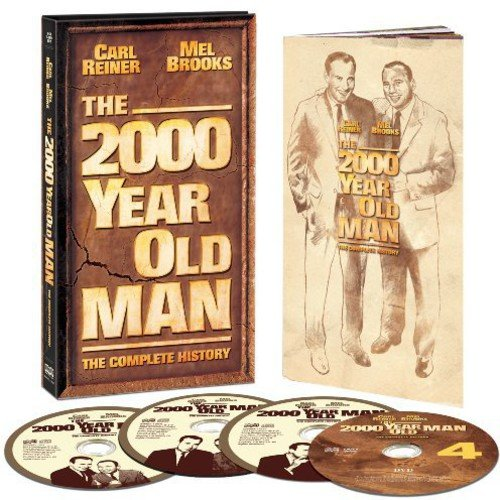 The 2000 Year Old Man: The Complete History (4 Disc Box Set) (3 CDs and 1 DVD)