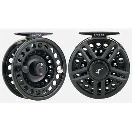 Base Fly Reel 4/5 wt, Maintenance-free rulon disc drag. By Echo Disc Drag Fly Fishing Reel