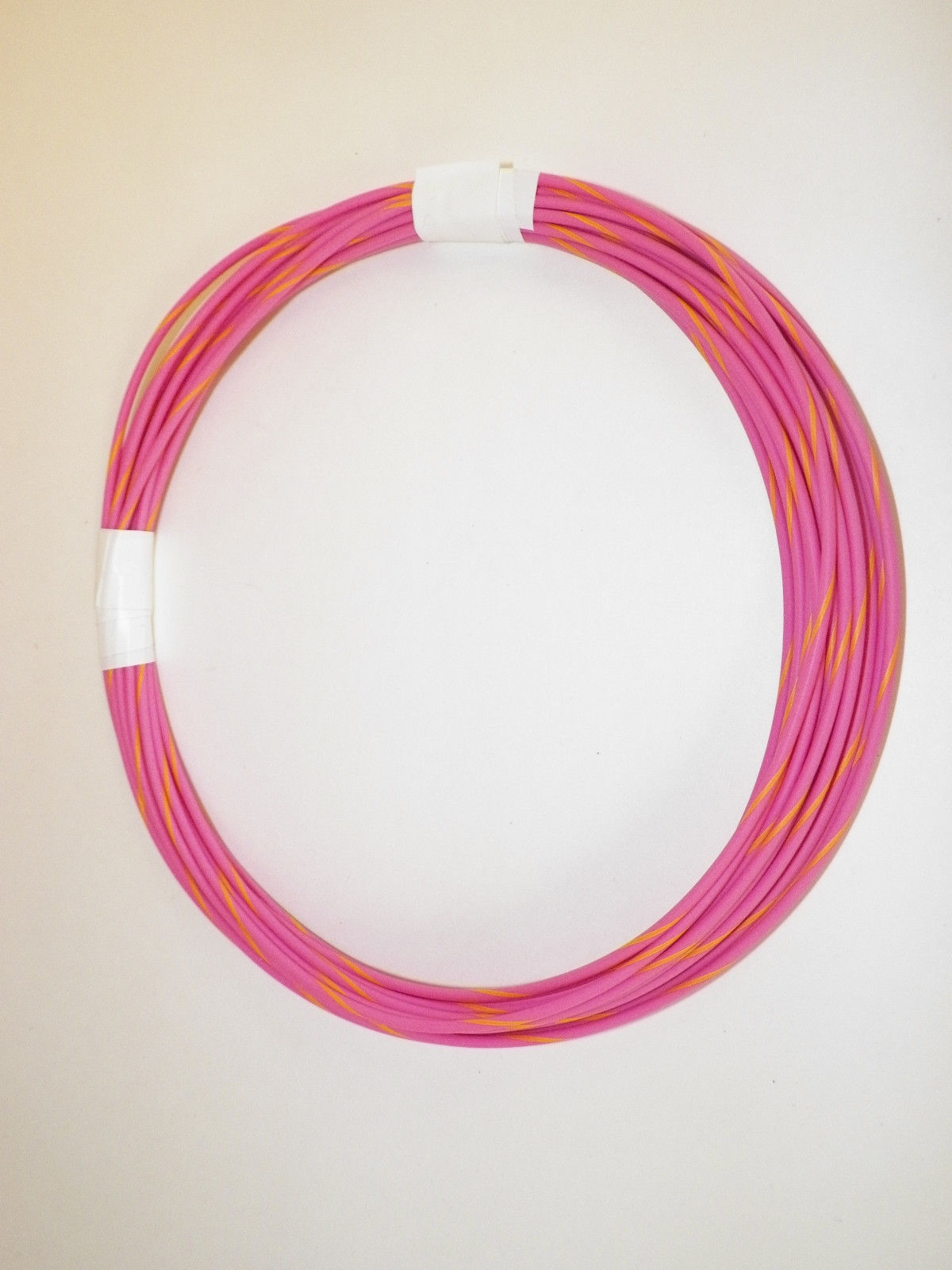 PINK AUTOMOTIVE  WIRE 16 GAUGE HIGH TEMP GXL  25 FEET STRIPED AVAILABLE