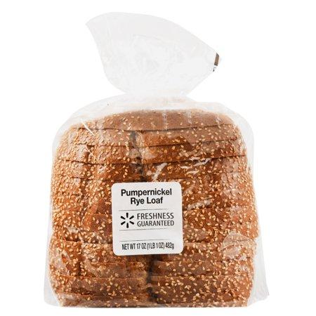 Freshness Guaranteed Pumpernickel Rye Loaf, 17 oz