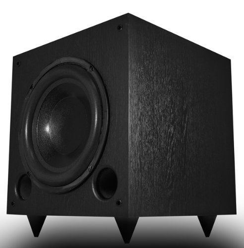Osd Audio PS10 10 Premium Front-firing P Owered Subwoofer; 125w