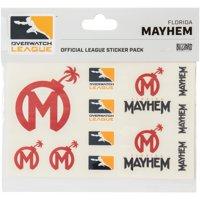 Florida Mayhem Overwatch League 10-Pack Team Car Stickers