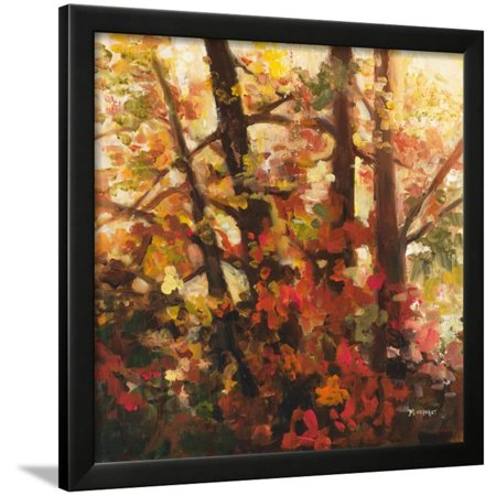 Backlit Leaves III Framed Print Wall Art By Michelle Condrat