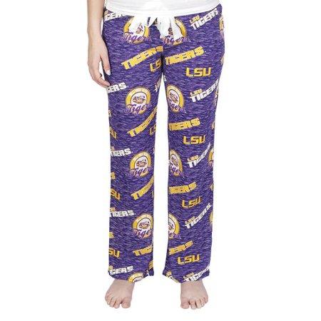 NCAA LSU Fielder Ladies' AOP Knit Pant