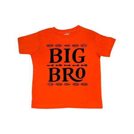 Big Bro Native Arrows Brother Gift Toddler T-Shirt - Native Bow And Arrow
