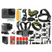 GoPro HERO 5 Black Edition 4K Action Sport Camera CHDHX-501 With 35-in-1 GoPro Action Camera Accessories Kit