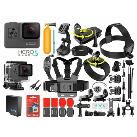 GoPro HERO 5 Black Edition 4K Action Sport Camera CHDHX-501 With