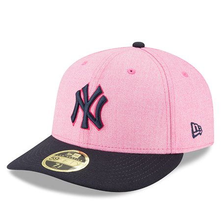New York Yankees New Era 2018 Mother s Day On-Field Low Profile 59FIFTY Fitted  Hat - Pink Navy - Walmart.com 93092b41aa7