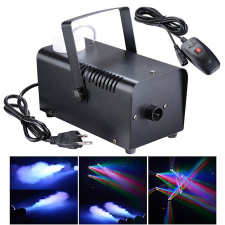 400W Smoke Effect Machine Stage Fogger Equipment Wired Control Disco Party Show