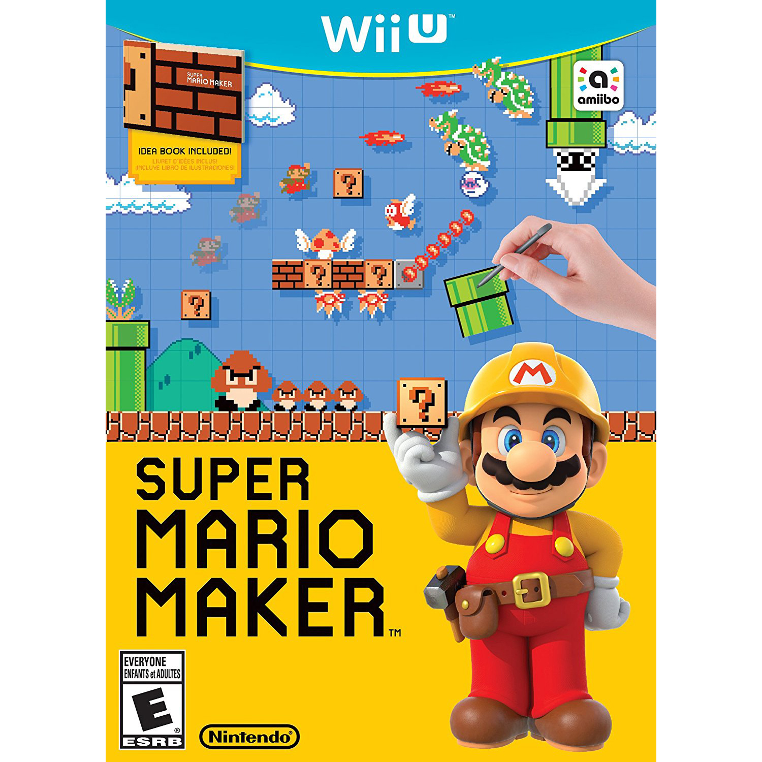 Super Mario Maker, Nintendo, WIIU, [Digital Download], 0004549666054