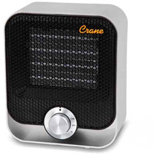 Crane Ceramic Personal Heater - Black