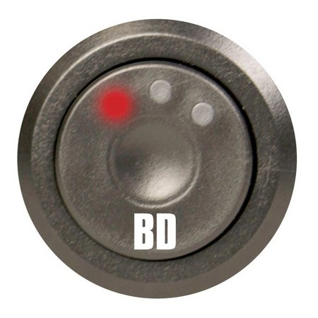BD Diesel Throttle Sensitivity Booster Optional Switch Kit - Version (Genuine Throttle Switch)