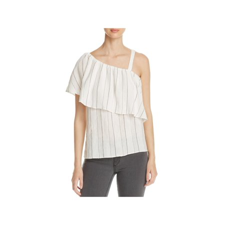 Sanctuary Womens Felicity Striped Popover Casual Top (Felicity Rose)