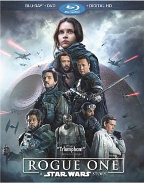 Rogue One: A Star Wars Story (Blu-ray + DVD + Digital HD)